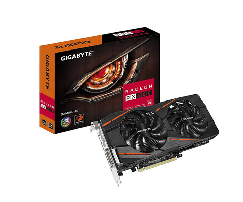 GIGABYTE Radeon RX 580 GV-RX580GAMING-4GD 4GB 256-Bit GDDR5 PCI Express 3.0 x16 ATX Video Card