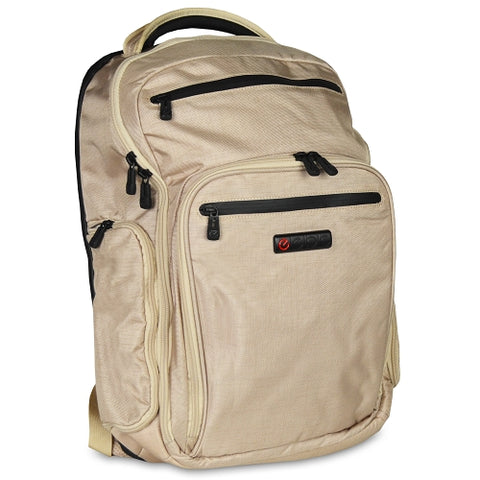 ECBC Hercules K7102-55 Nylon Laptop Backpack wSecurity Fast Pass - Fits up to 17 Laptops (Linen)