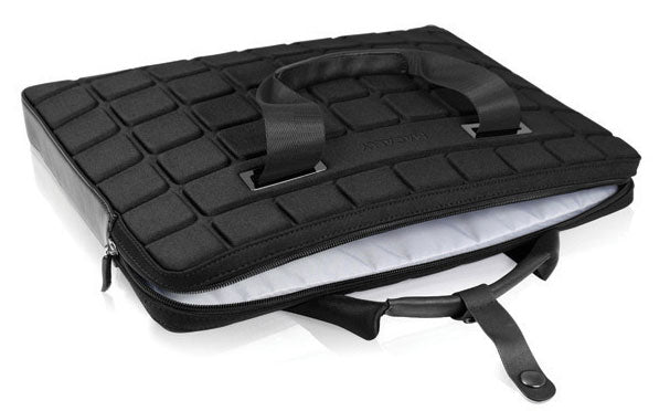 "MacAlly AIRCASE 15"" Laptop Carry Case - Black Neoprene"