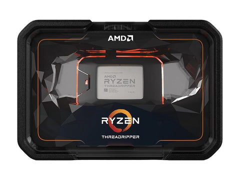 Image of AMD 2nd Gen RYZEN Threadripper 2990WX 32-Core, 64-Thread, 42 GHz Max Boost (3.0 GHz Base), Socket sTR4 250W YD299XAZAFWOF Processor
