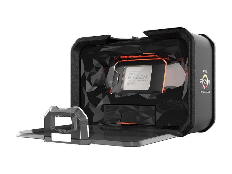AMD 2nd Gen RYZEN Threadripper 2990WX 32-Core, 64-Thread, 42 GHz Max Boost (3.0 GHz Base), Socket sTR4 250W YD299XAZAFWOF Processor
