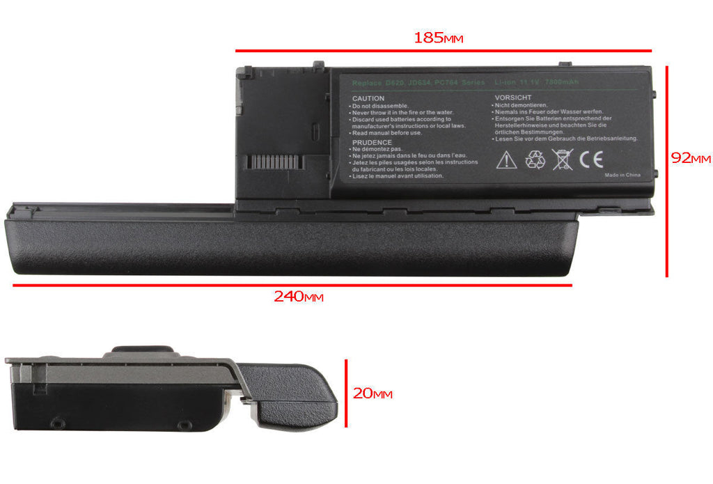 Replacement Laptop Battery for Dell Latitude D620 / Precision M2300