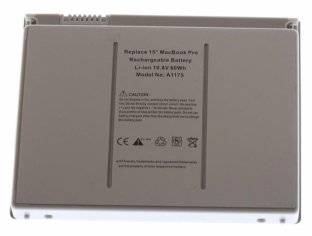 "Laptop Battery for Apple MacBook Pro 15"" A1175 A1226 A1211 A1150 A1260"