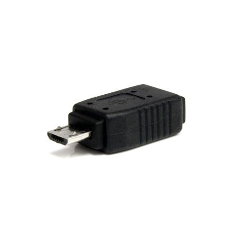 Image of StarTech UUSBMUSBMF Male Micro USB to Female Mini USB Adapter