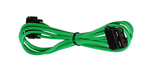 Image of BattleBorn CB-MXEXT Green Molex M/F Braided Extendsion Cable