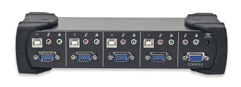 Syba SY-KVM20107 4-Port VGA USB KVM Switch