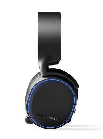 SteelSeries Arctis 5 (2019 Edition) RGB Illuminated Gaming Headset with DTS HeadphoneX v2.0 Surround for PC and PlayStation 4 - Black