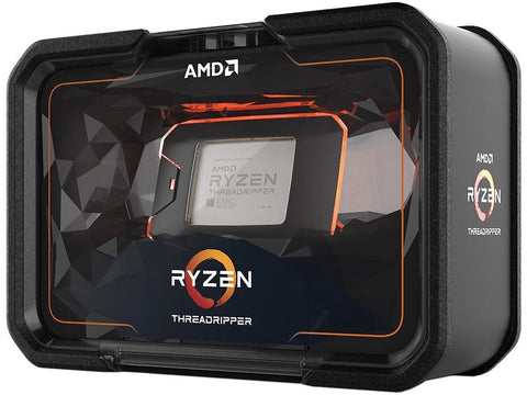 Image of AMD Ryzen Threadripper 2920X 2nd Gen 12-Core, 24-Thread, 4.3 GHz Max Boost (3.5 GHz Base), Socket sTR4 180W YD292XA8AFWOF Desktop CPU