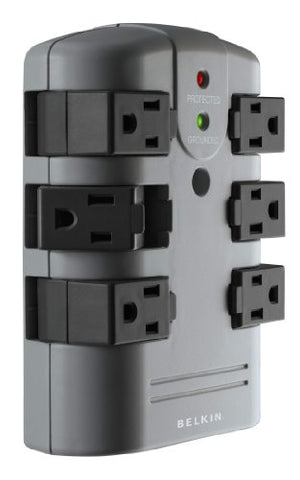 Image of Belkin BP106000 6 Outlet Surge Suppressor