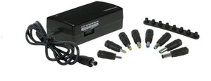 Manhattan 100854 70-Watt Universal Laptop Power Adapter (Black)