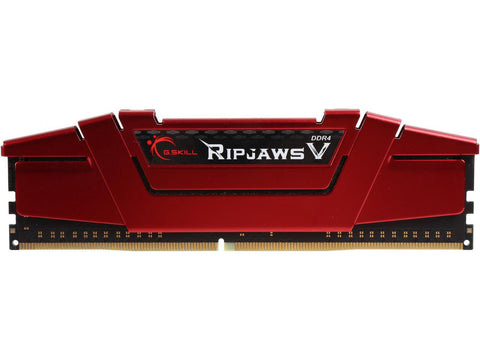 G.SKILL Ripjaws V Series 8GB 288-Pin SDRAM DDR4 2400 (PC4 19200) Desktop Memory F4-2400C15S-8GVR