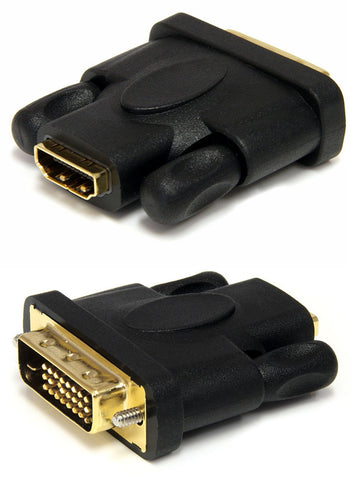 StarTech HDMIDVIFM Female HDMI to Male DVI-D Video Adapter (Black)