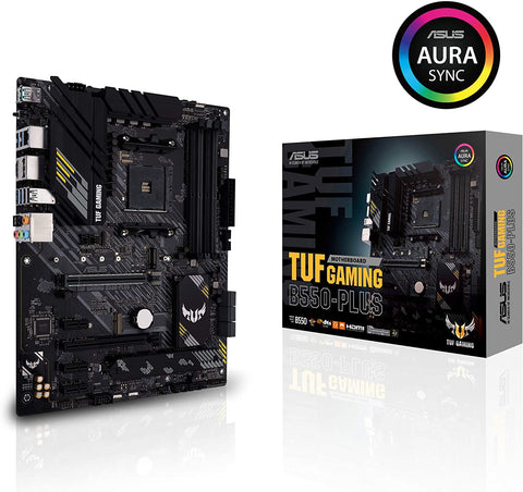 ASUS TUF GAMING B550-PLUS AMD AM4 (3rd Gen Ryzen) ATX Gaming Motherboard