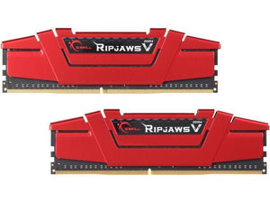 G.SKILL Ripjaws V Series 8GB (2 x 4GB) 288-Pin SDRAM DDR4 2400 (PC4 19200) F4-2400C17D-8GVR