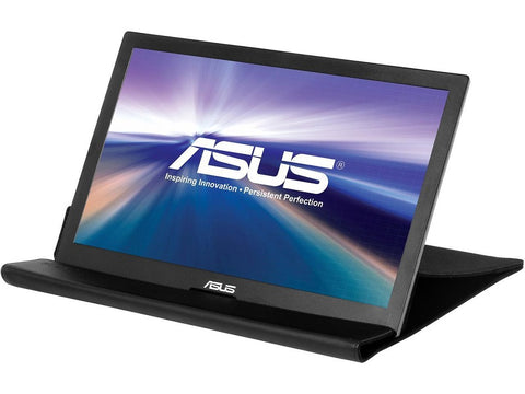 "Image of ASUS MB168B Silver/Black 15.6"" 11ms Widescreen LED Backlight HD Portable USB-powered Ultra-slim Monitor"