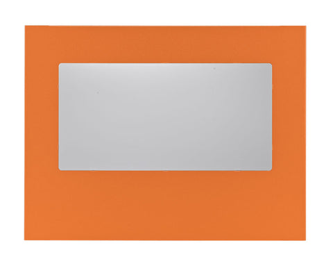Image of BitFenix BFC-PRO-300-OOWA-RP Orange Prodigy Windowed Side Panel