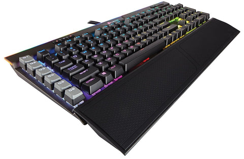 Corsair Gaming K95 RGB PLATINUM Mechanical Keyboard, Backlit RGB LED, Cherry MX Speed, Gunmetal