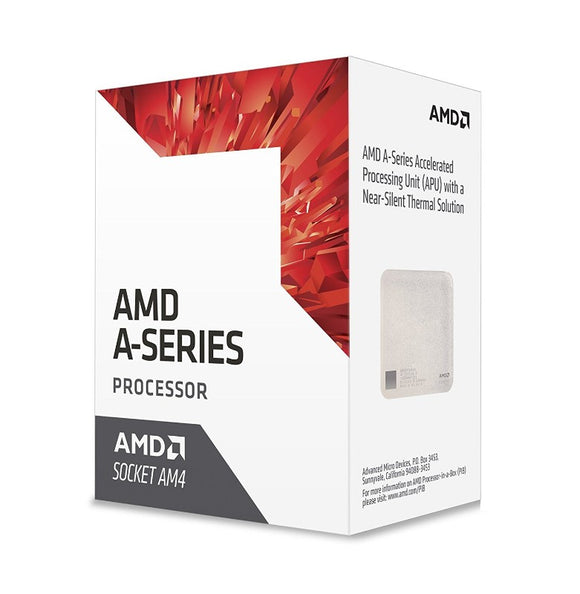 AMD AD9600AGABBOX  A8-9600 Bristol Ridge Quad-Core 3.1 GHz Socket AM4 65W  Desktop Processor Radeon R7