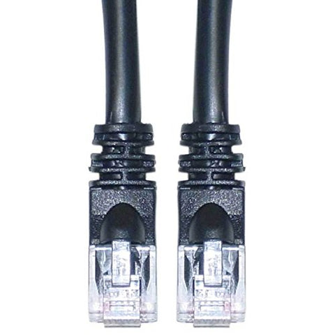 BattleBorn Cat6a UTP RJ45 200 Foot Ethernet Network Cable (BLACK)