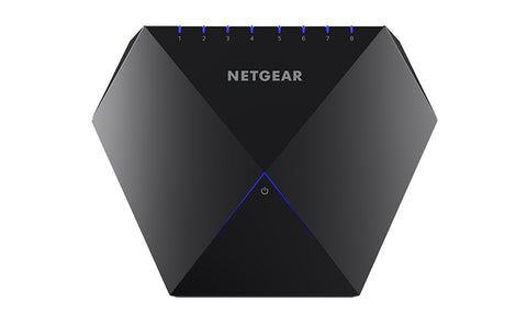 NETGEAR Nighthawk S8000 8-port Gaming and Streaming, Advanced Gigabit Ethernet Switch GS808E-100NAS