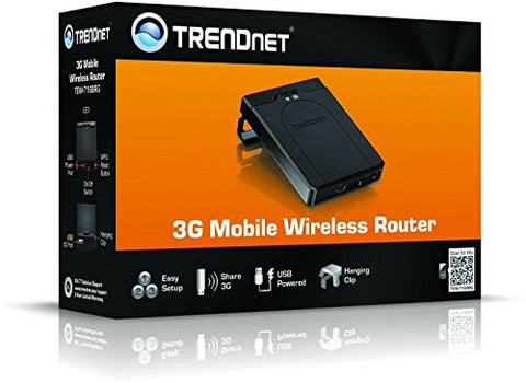 Image of TRENDnet TEW-716BRG 3G Mobile Wireless Router (Black)