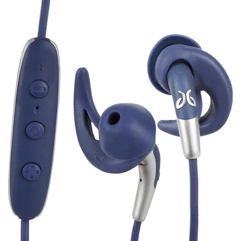 Jaybird FREEDOM 2 In-Ear Wireless Bluetooth Sport Headphones w/Inline Controls & Charging Clip/Battery Pack (Dark Blue) Refurbished