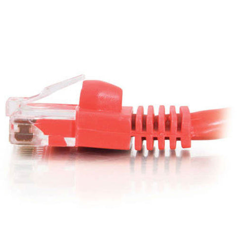 Image of C2G 15197 7-Foot Cat5e Snagless Patch Cable (Red)