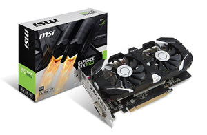MSI GeForce GTX 1050 DirectX 12 GTX 1050 2GT OC 2GB 128-Bit GDDR5 PCI Express 3.0 x16 HDCP Ready