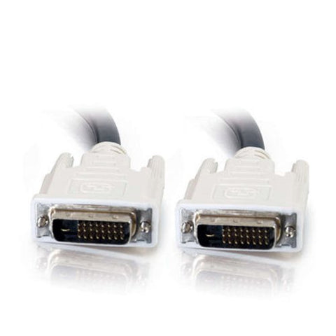 Image of C2G 16.4 Foot (5M) DVI Cable - Dual-Link - DVI-D