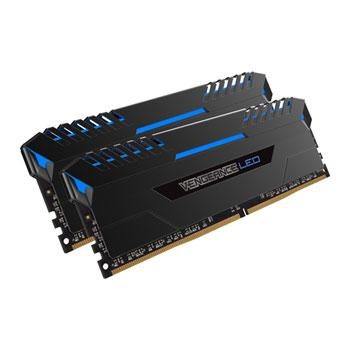 Corsair Vengeance LED 16GB (2 x 8GB) 288-Pin DDR4 SDRAM 3000 (PC4 24000) Memory CMU16GX4M2C3000C15B