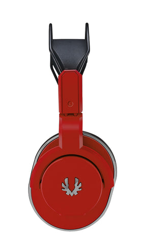 BitFenix Fire Red Flo Computer Gaming Headphones and Mic