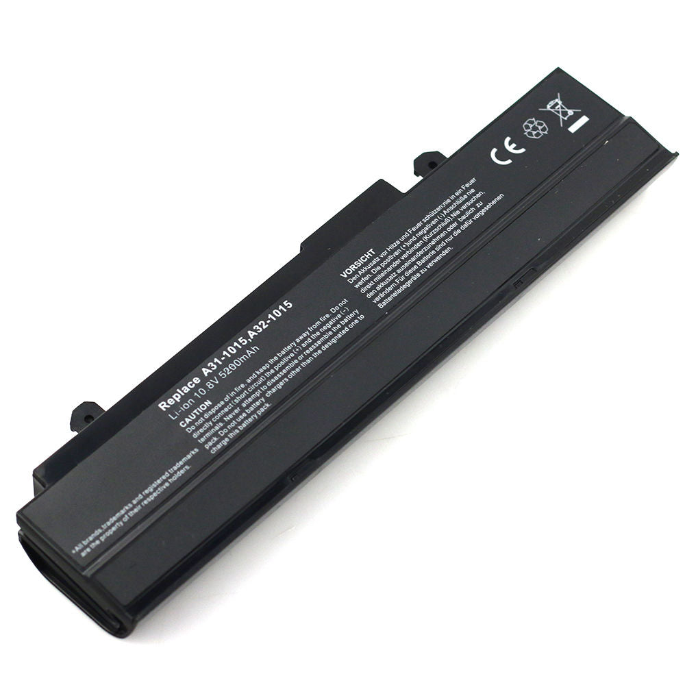 Replacement Battery for ASUS Eee PC A31-1015 A32-1015 1015 1016P 1215 1215B 1215N 1215P
