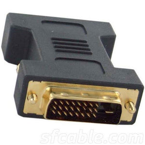 SGC-DVIDMM DVI-D Male to Male Gender Changer (Black)