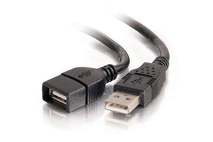 C2G 9.8 Foot USB 2.0 Extension Cable (Black)