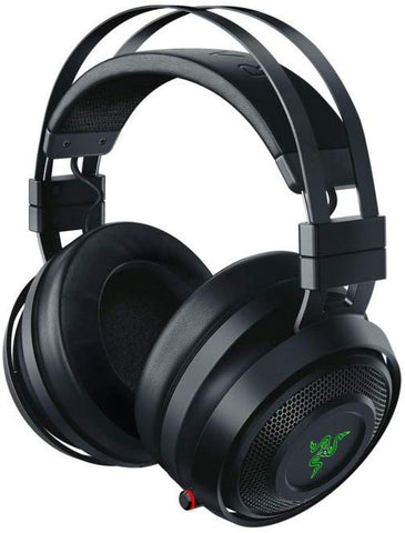 Razer Nari Wireless 7.1 Surround Sound Gaming Headset: THX Audio - Auto-Adjust Headband & Swivel Cups - Chroma RGB - Retractable Mic