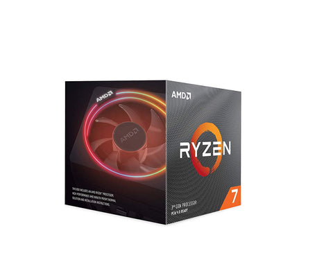 AMD Ryzen 7 3700X Socket AM4 8-Core/16-Thread 3.6GHz / 4.4GHz 65W Processor - 100-000000071 with Wraith Prism cooler