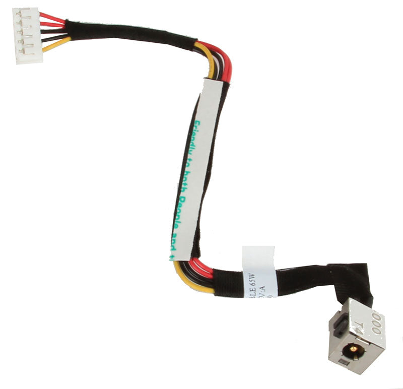 PJ076 DC Power Jack & Cable for HP Compaq C700, DV2000, and DV3000