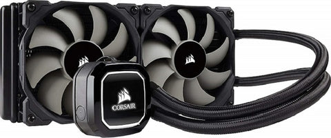 Image of Corsair Hydro Series H100x Extreme Performance Liquid CPU Cooler 240mm CW-9060040-WW