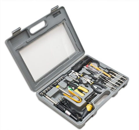 Image of Syba 56-Piece Tool Kit with Blow Mold Case