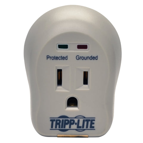 Tripp Lite SPIKECUBE Surge Protector Wallmount Direct Plug In 120V 1 Outlet 600 Joules