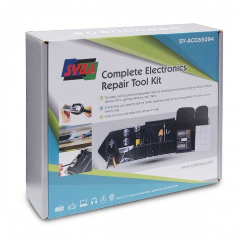 Image of Syba SY-ACC65094 Complete Essential Electronic Repair Tool Kit