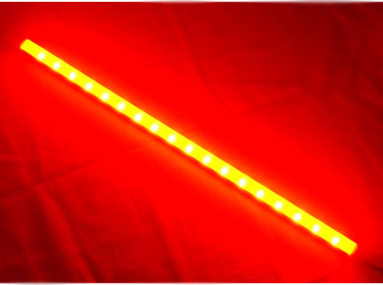 Logisys SQL12RD Red Square Enclosure LED Stick