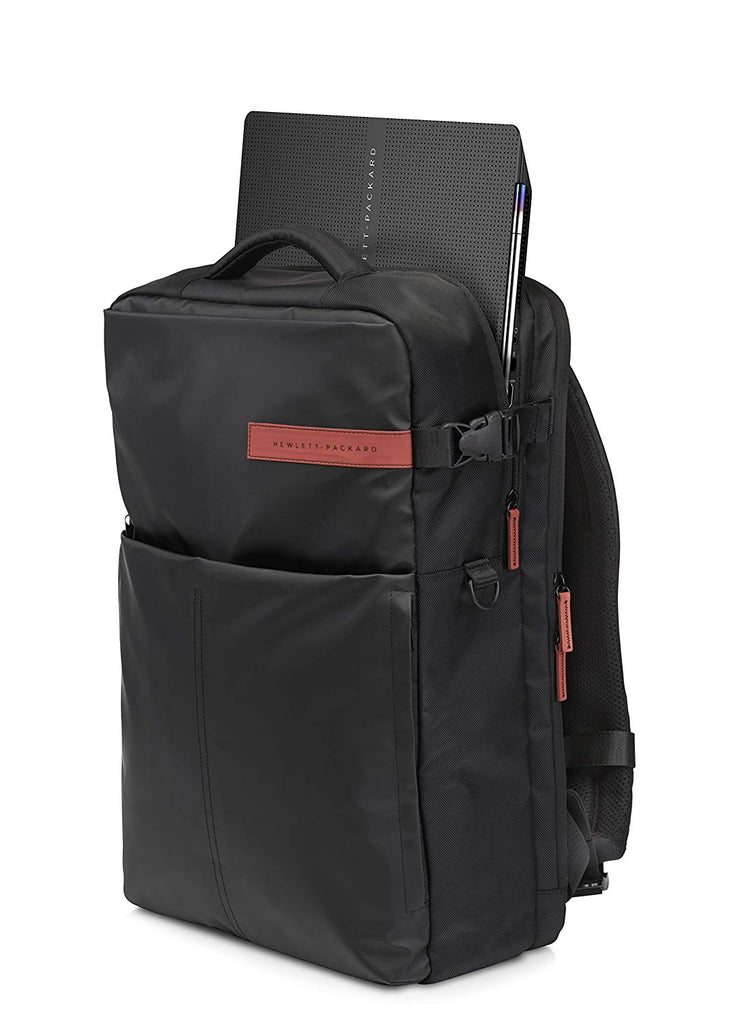 HP Carrying Case (Backpack) for 17.3in Notebook - Black