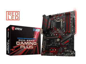 MSI MPG Z390 GAMING PLUS LGA 1151 (300 Series) Intel Z390 HDMI SATA 6Gbs USB 3.1 ATX Intel Motherboard