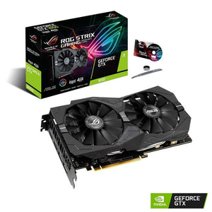 Asus GeForce GTX 1650 4GB STRIX GAMING Advanced OC Video Card