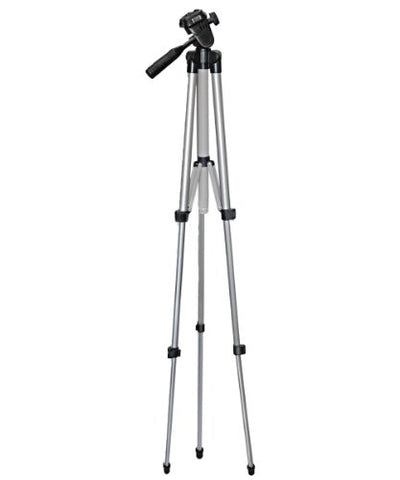 "Vivitar VPT-1250 50"" Aluminum Camera Tripod with Level & Case"