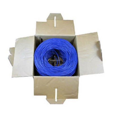 Image of BattleBorn 1000 Foot Cat5e Cable UTP Bulk Ethernet Cable Roll Pull Box 1000' Foot