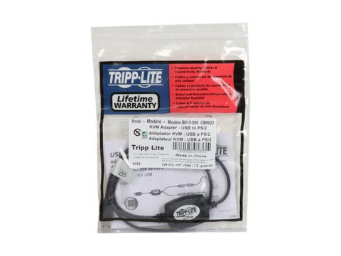 Image of Tripp Lite USB to PS/2 Adapter for Keyboard & Mouse