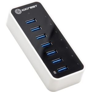 Image of Syba SY-HUB20152 Super Speed IO Crest 7-Port USB 3.0 Hub