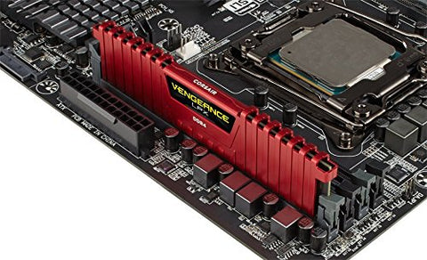 Image of CORSAIR Vengeance LPX 8GB 288-Pin SDRAM DDR4 2666 (PC4 21300) Desktop Memory CMK8GX4M1A2666C16R